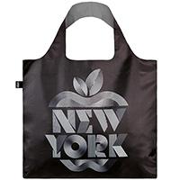Черная эко-сумка Loqi Alex Trochut New York, фото