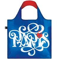 Складная сумка Loqi Alex Trochut Paris для путешествий, фото