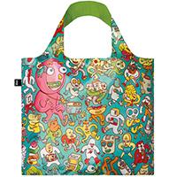 Складная сумка Loqi Brosmind с ярким принтом, фото