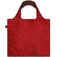 Красная сумка для покупок Loqi Elements Fire , фото