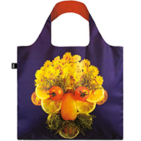 Эко-сумка фиолетовая Loqi Fresh Faces Gilbert & Zelda, фото