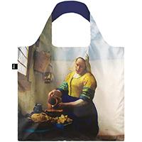Складная эко-сумка Loqi Museum Johannes Vermeer The Milkmaid, фото