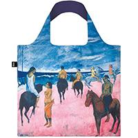 Складная сумка Loqi Museum Paul Gauguin Всадник на пляже, фото