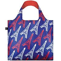 Эко-сумка для путешествий Loqi Travel с Эйфелевыми башнями, фото
