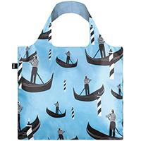 Голубая сумка с принтом Loqi Travel Gondola , фото