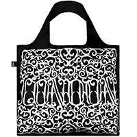 Эко-сумка Loqi Sagmeister с узором и надписью Лондон, фото