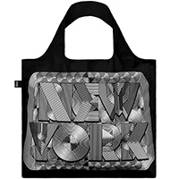 Сумка-шоппер Loqi Sagmeister с ретро надписью Нью-Йорк, фото