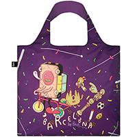 Яркая сумка для покупок Loqi Brosmind Barcelona, фото