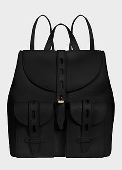 Черный рюкзак Furla Net с накладными карманами, фото