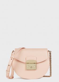 Маленькая сумка Furla Metropolis розового цвета, фото