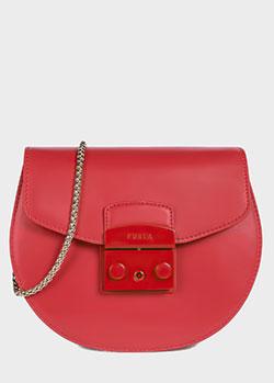 Маленькая сумка Furla Metropolis на ремне-цепочке, фото