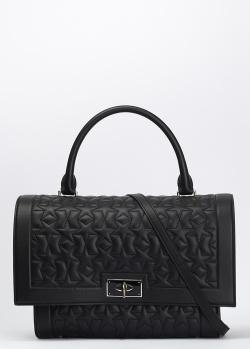 Стеганая сумка Givenchy Shark черного цвета, фото