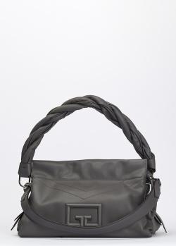 Сумка-багет Givenchy из кожи серого цвета, фото