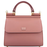 Сумка-тоут Dolce&Gabbana Sicily нежно-розового цвета цвета, фото