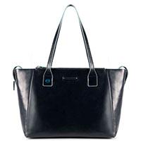 Женская сумка Piquadro Bl Square синего цвета , фото
