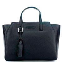 Черная сумка Piquadro Muse с отделением , фото