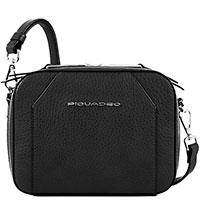 Женская сумка Piquadro Muse в черном цвете , фото