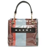 Женская сумка Marni в полоску , фото