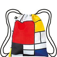 Текстильный рюкзак Loqi Museum Piet Mondrian Composition, фото