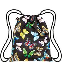Складной рюкзак Loqi Wild с цветными бабочками, фото