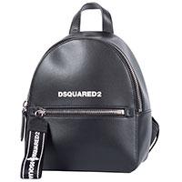 Рюкзак Dsquared2 из черной кожи, фото
