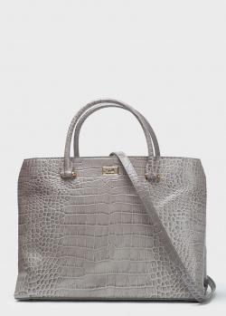 Женская сумка Cavalli Class серого цвета, фото