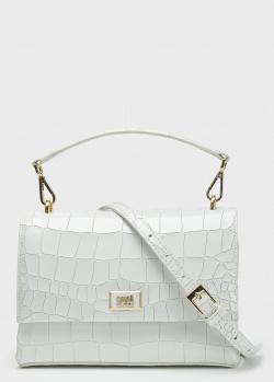 Белая сумка Cavalli Class со съемным ремнем, фото