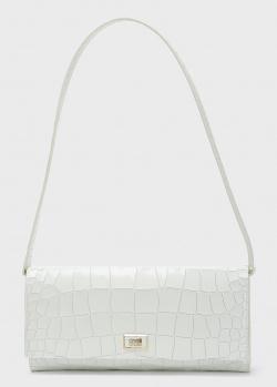 Сумка-клатч Cavalli Class белого цвета, фото