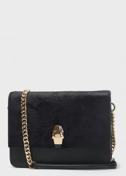 Черная сумка кросс-боди Cavalli Class на цепочке, фото