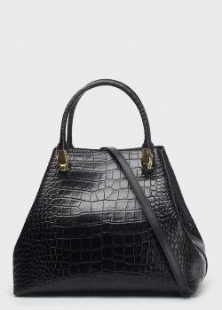 Черная сумка Cavalli Class с плечевым ремнем, фото