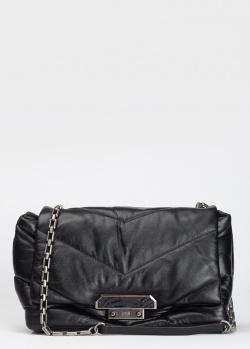 Черная сумка Cavalli Class Nappa Luxe стеганая, фото
