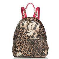 Текстильный рюкзак Cavalli Class StBarth с леопардовым принтом, фото