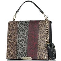 Женская сумка Cavalli Class Loveleo с леопардовым принтом, фото