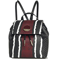 Рюкзак-сумка Cavalli Class Pantera с животным принтом, фото