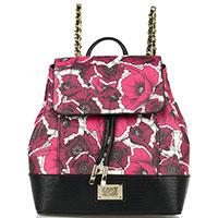 Женский рюкзак Cavalli Class Fleurs с принтом-цветами, фото