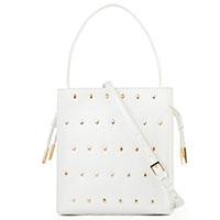 Белая сумка Cavalli Class Yaara со съемным ремнем, фото