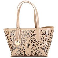 Бежевая сумка-шоппер Cavalli Class Brigitte, фото