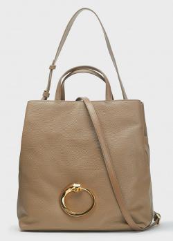 Женская сумка Cavalli Class Ruby бежевого цвета, фото