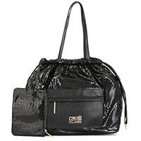 Сумка-мешок Cavalli Class Thea черного цвета, фото