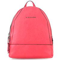 Красный рюкзак Piquadro Muse с отделением для гаджета, фото