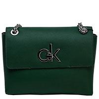 Сумка Calvin Klein зеленого цвета, фото