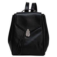 Черный рюкзак Calvin Klein с металлическим декором, фото
