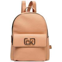Женский рюкзак Calvin Klein бежевого цвета, фото