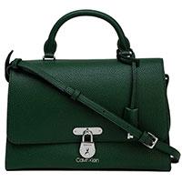 Сумка-портфель Calvin Klein зеленого цвета, фото