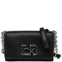 Вечерняя сумка Calvin Klein черного цвета, фото