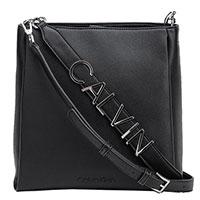 Черная сумка Calvin Klein с двумя ремешками, фото