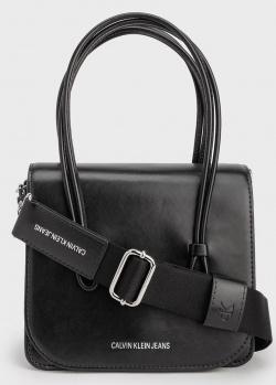 Женская сумка Calvin Klein с ручками и ремнем, фото