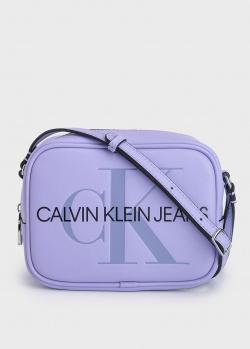 Сумка камера-бег Calvin Klein с логотипом, фото