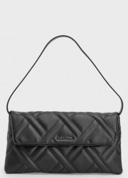 Сумка-клатч Calvin Klein из стеганой экокожи, фото