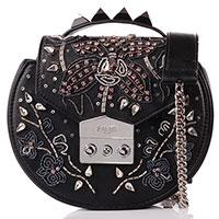 Черная сумка Salar с металлическим декором, фото